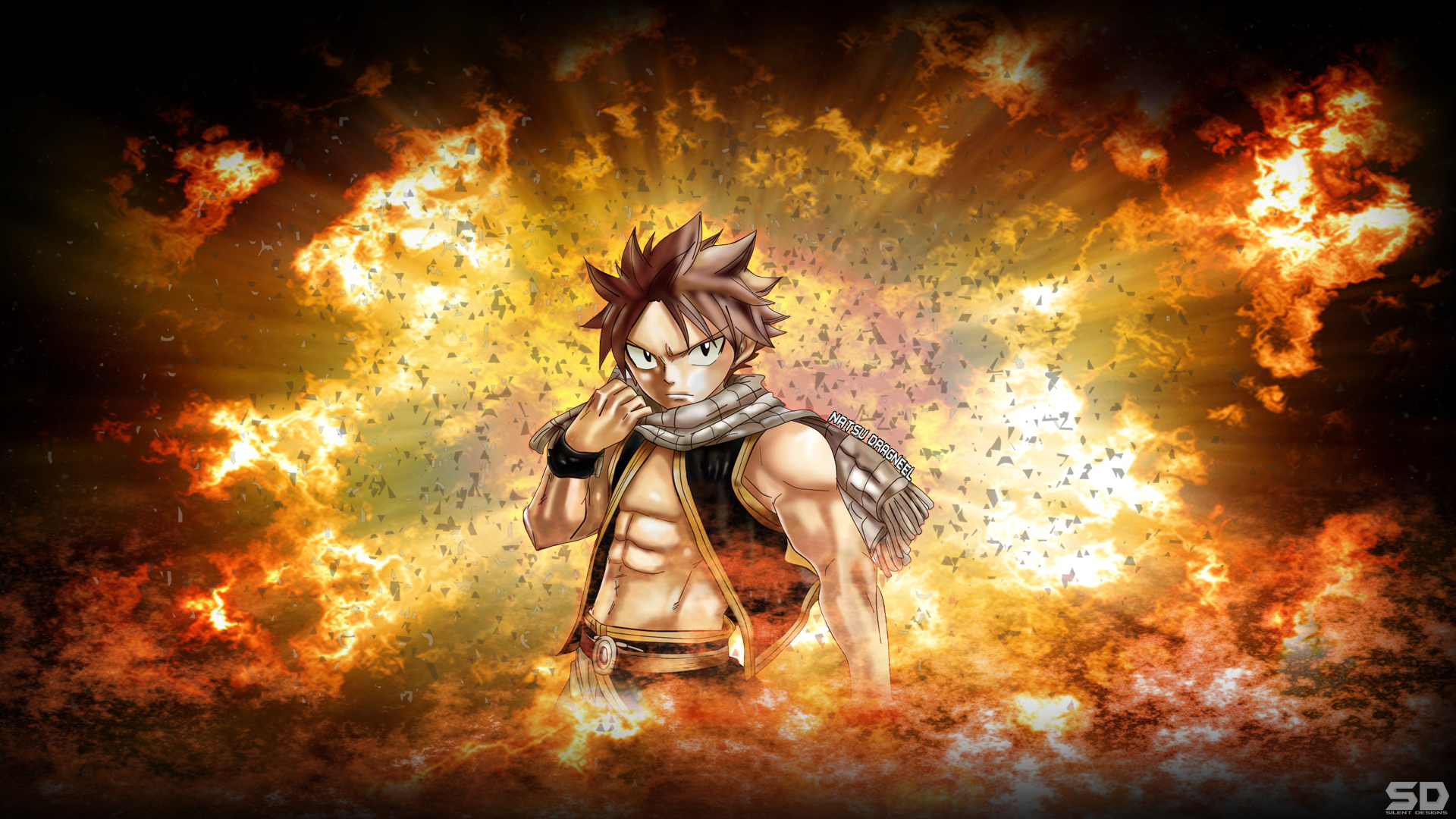 Fairy Tail Wallpaper Natsu Dragneel by Silent  Designs 1920x1080