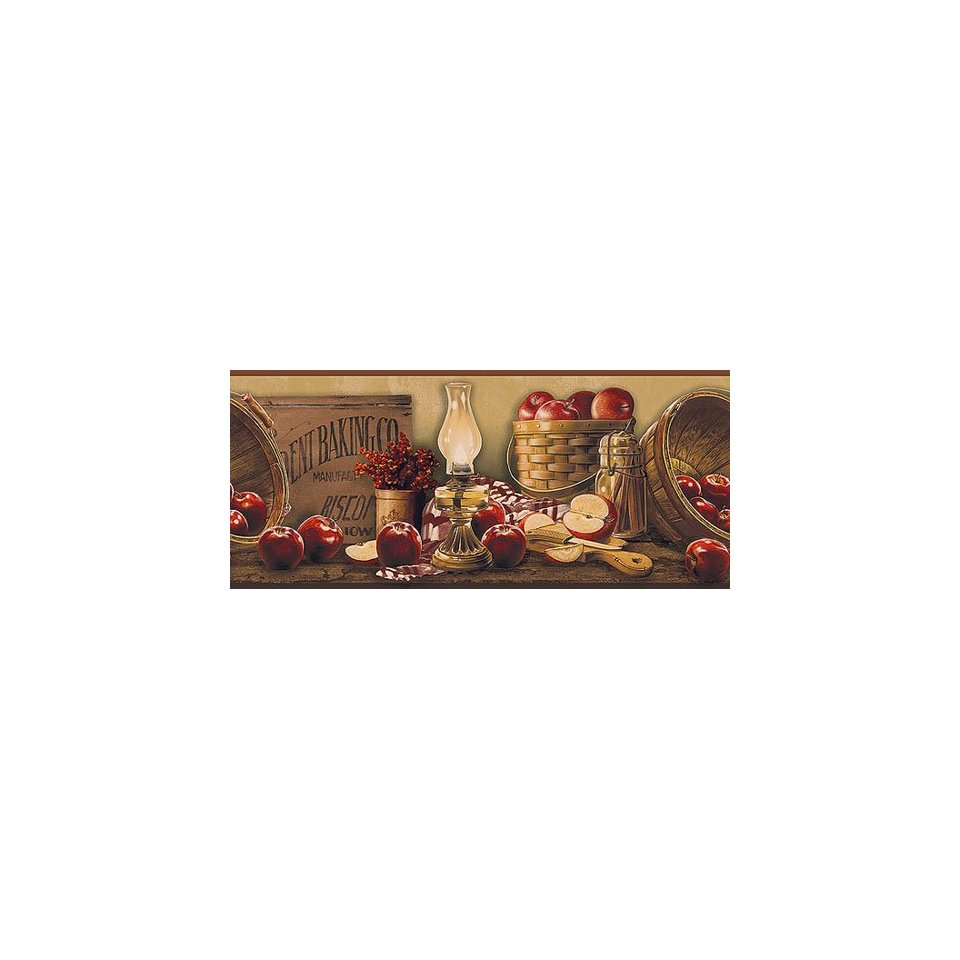 Apple Collection Country Wallpaper Border KE4914BD Home 960x960