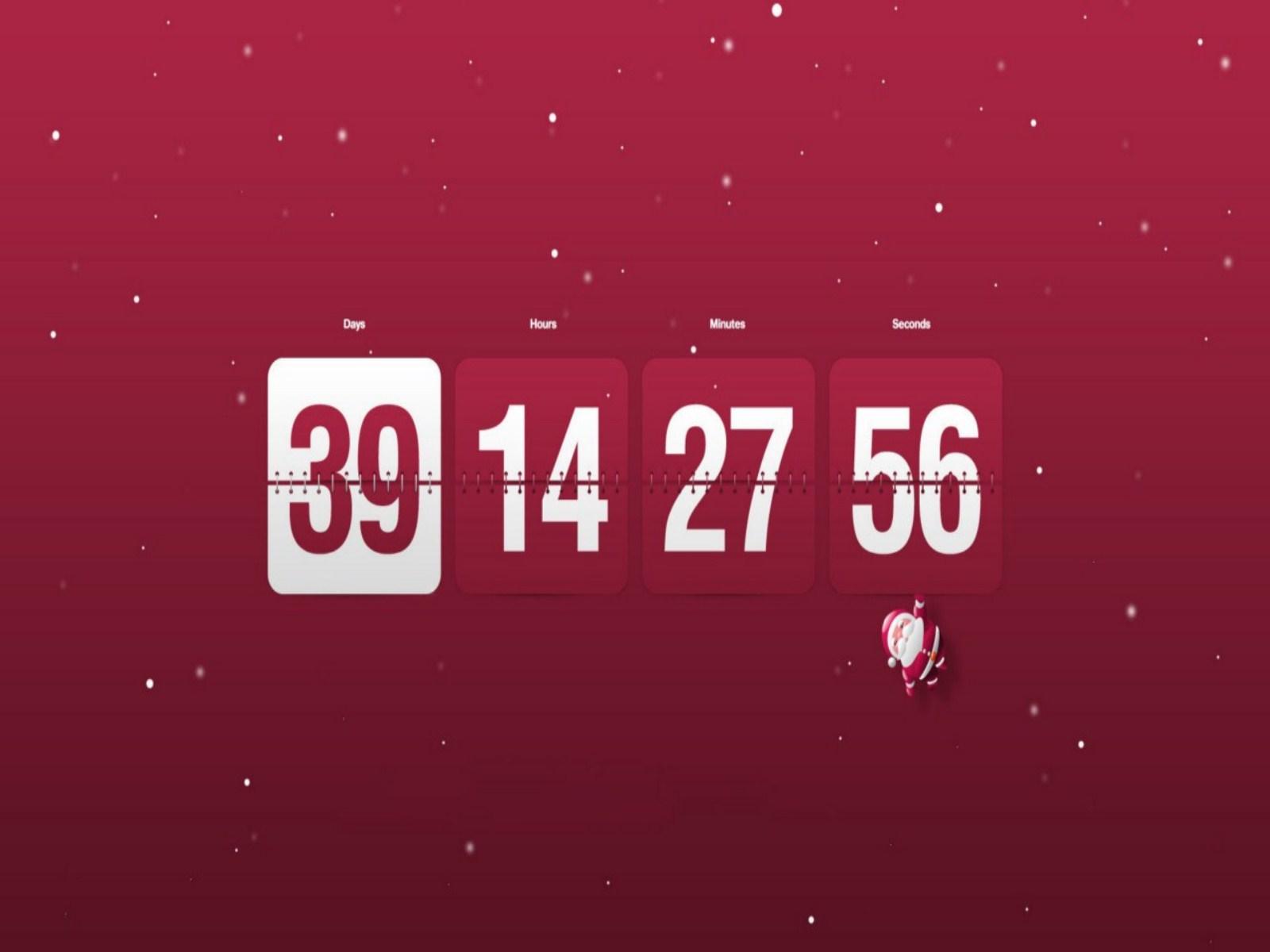 Calendar Clock Wallpaper : Desktop wallpaper countdown timer wallpapersafari