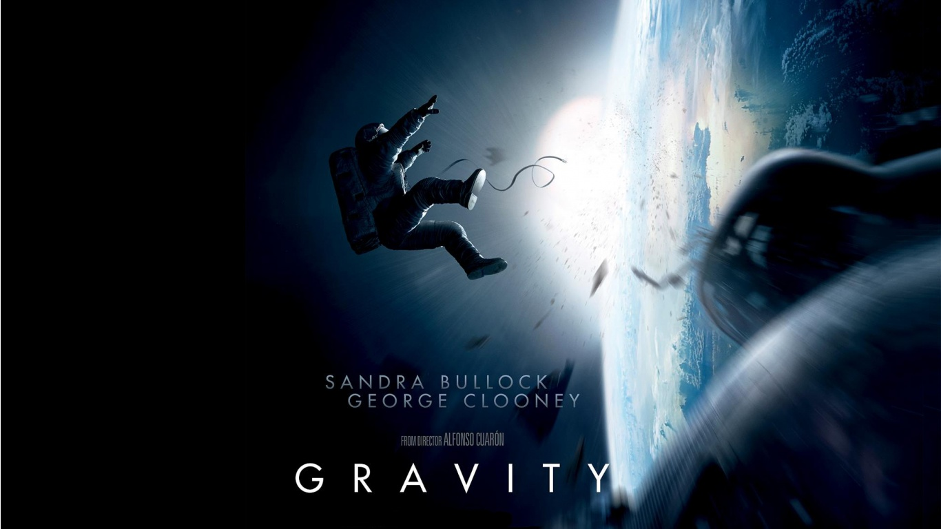 Gravity Wallpaper And Background Image   Gravity Movie 450268 1366x768