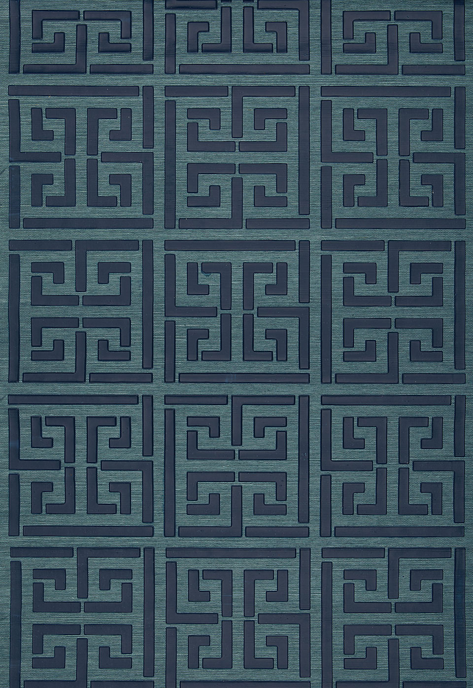 Greek Key Sisal Grasscloth Wallpaper by FSchumacher 960x1396