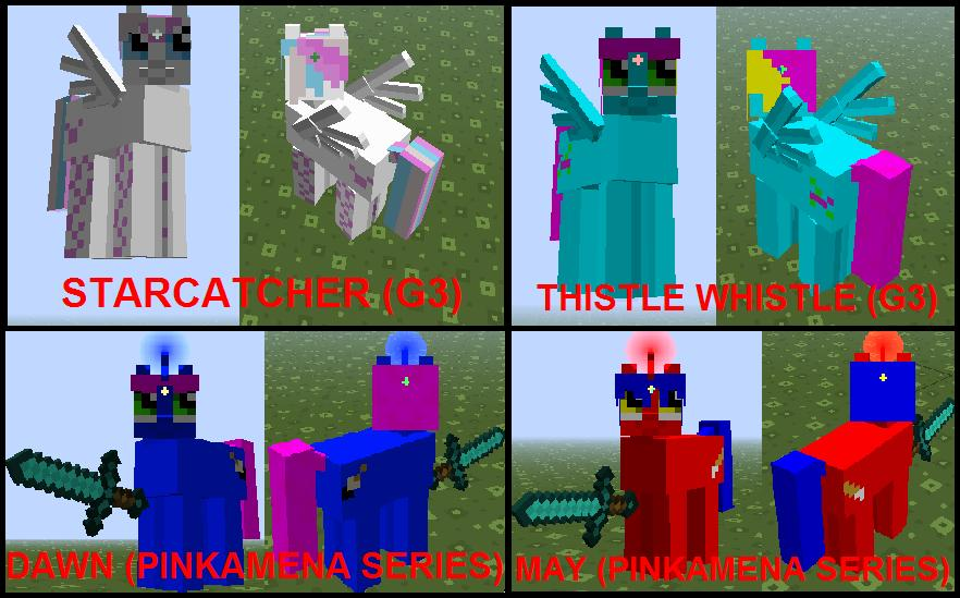 Free download MLP Minecraft Custom Skins by GameCommentaries