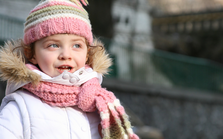 Super Stylish Little Girl HD Wallpaper Cute Little Babies 1440x900