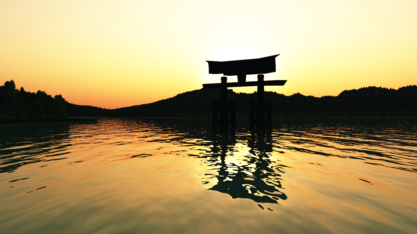 japan scenery wallpaper   weddingdressincom 1366x768