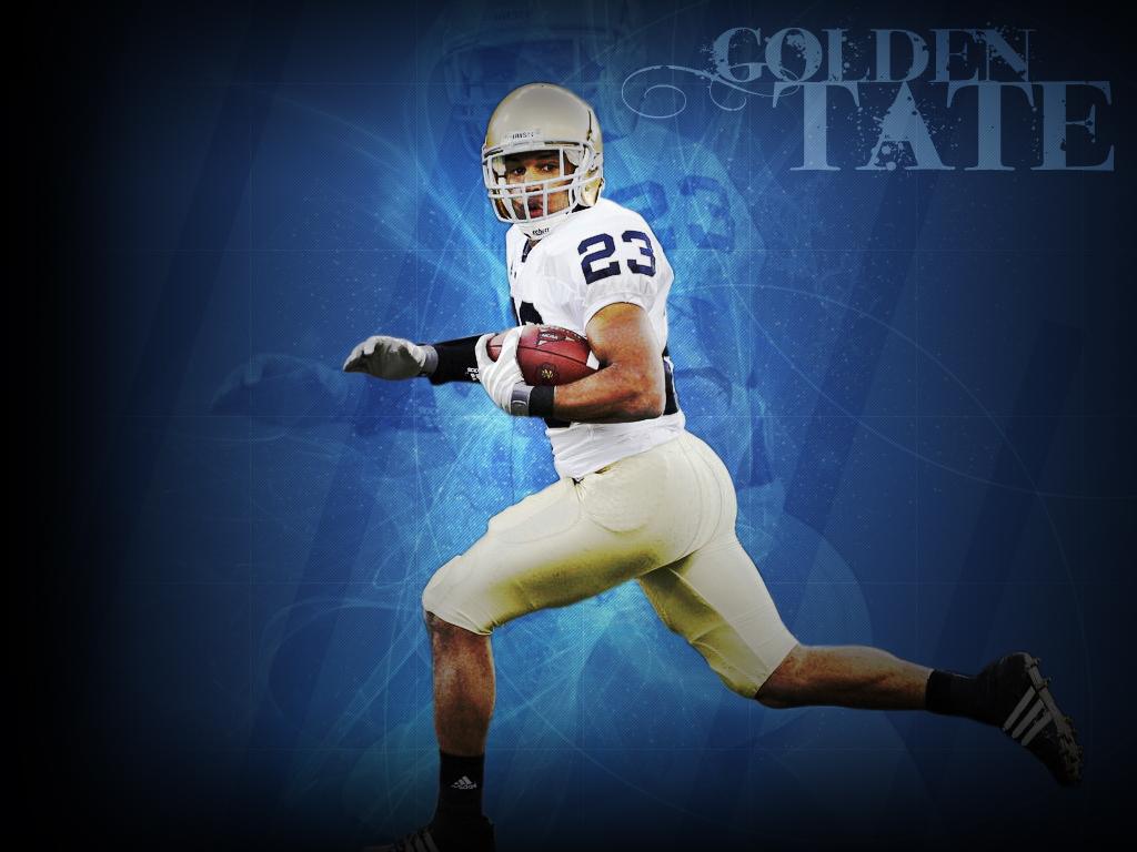 Sick Golden Tate Wallpaper   Notre Dame Football News And Talk 1024x768