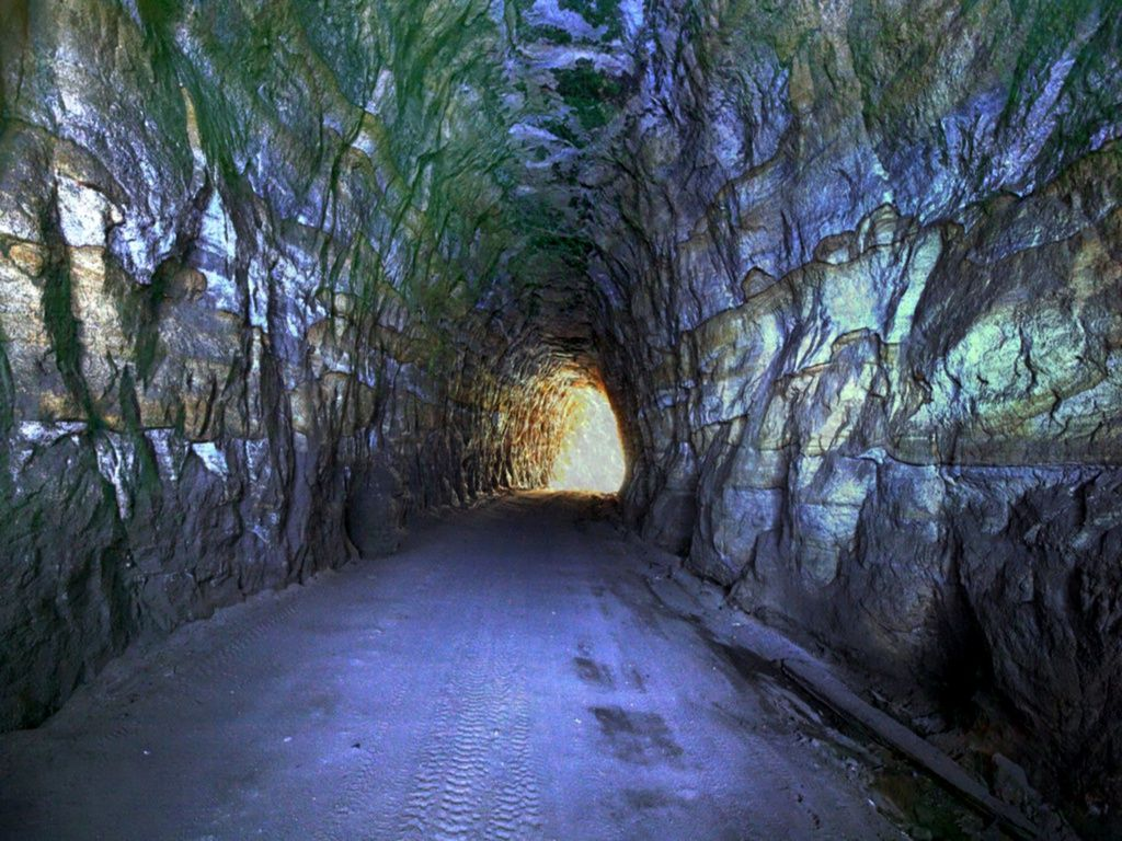 gold mine Gold Mine Tunnel Wallpaper mines Wallpaper 1024x768
