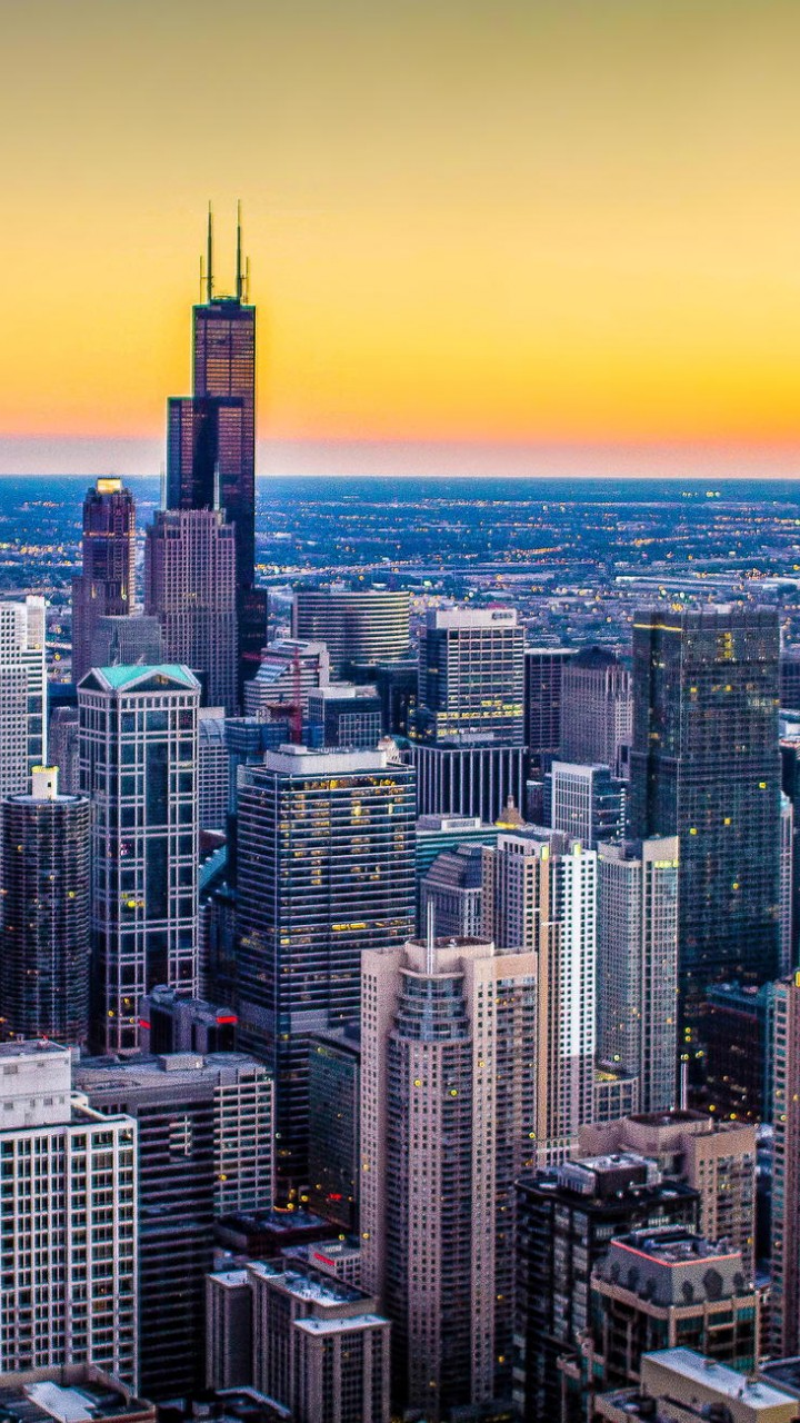 Illinois Chicago City 720x1280   Wallpaper   HD Wallpapers 720x1280