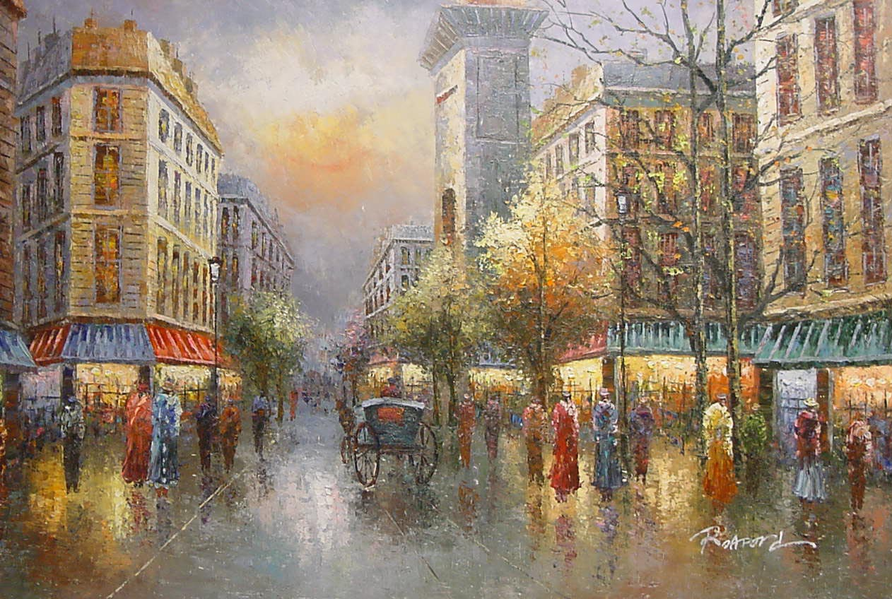 Romantic Rainy Day Wallpaper