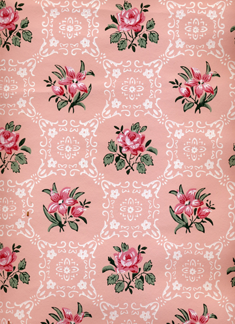35 Vintage Style Floral Wallpaper On Wallpapersafari