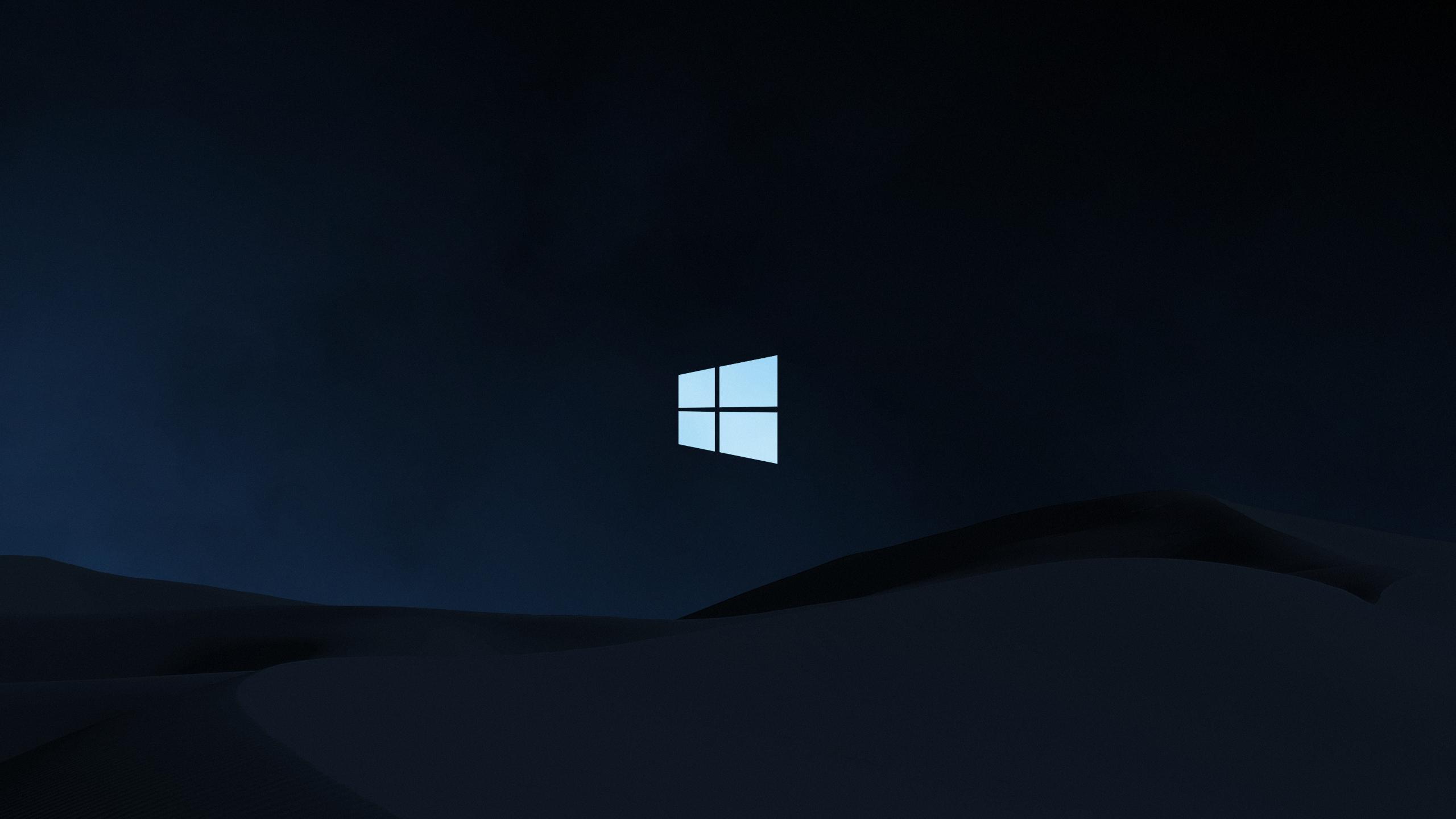 Clean Windows Background Desktop wallpaper art Microsoft 2560x1440