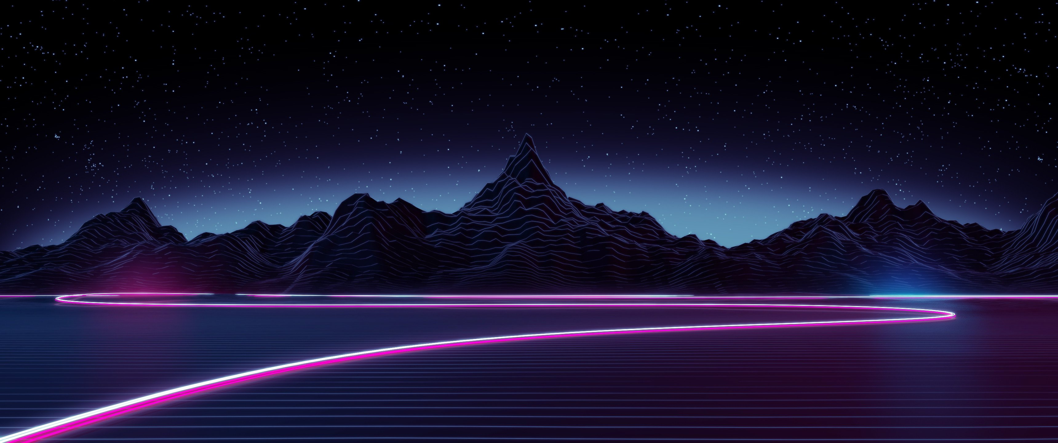 Retro 80s Wallpaper 66 images 3440x1440