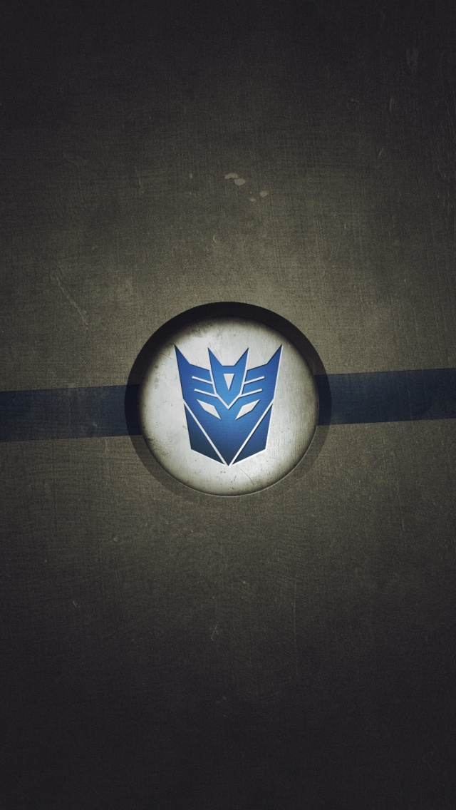 Transformers Logo iPhone 5 Wallpaper HD 640x1136