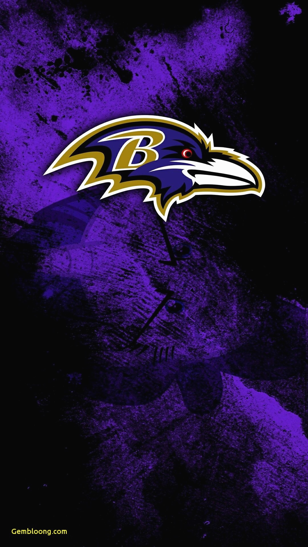 Samsung Lock Screen Wallpaper Hd   Baltimore Ravens Logo Hd 1080x1920