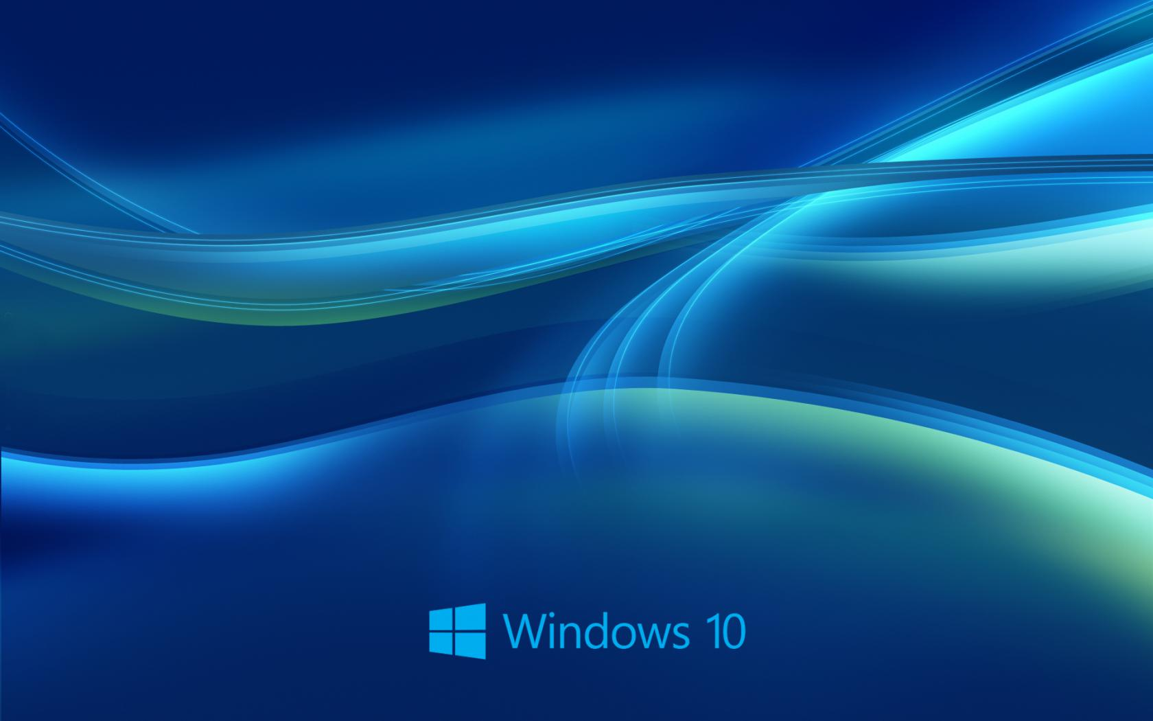 Windows 10 Wallpaper in Blue Abstract with New Logo   HD Wallpapers ...