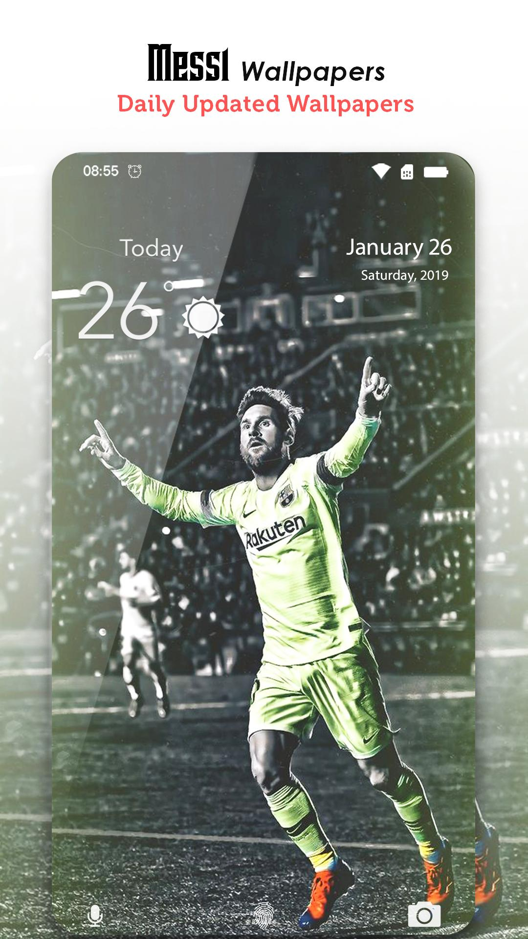 Messi Wallpapers   Lionel Messi Fondos HD 4K for Android   APK 1080x1920