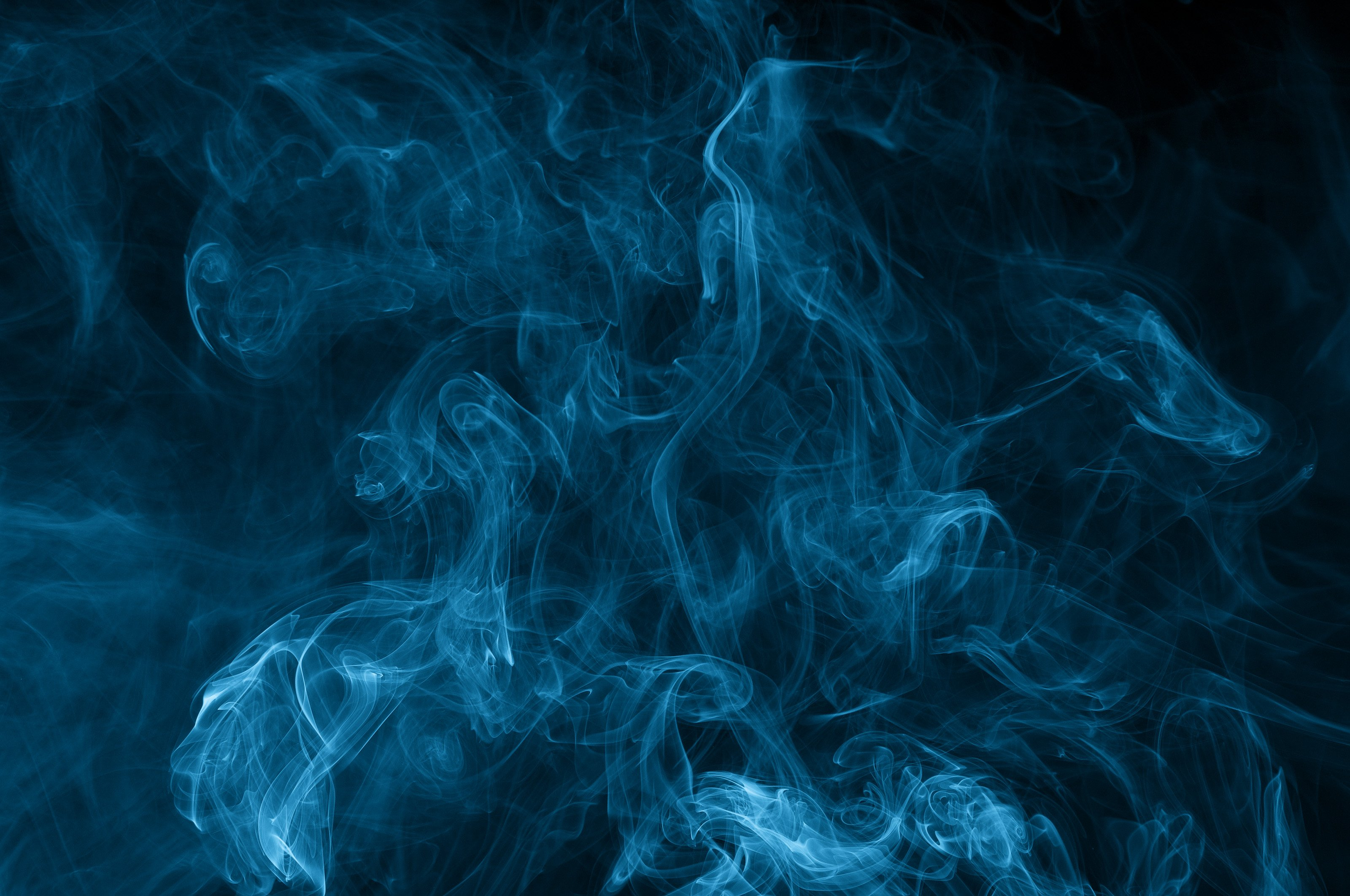 Blue Smoke Wallpaper 3200x2125