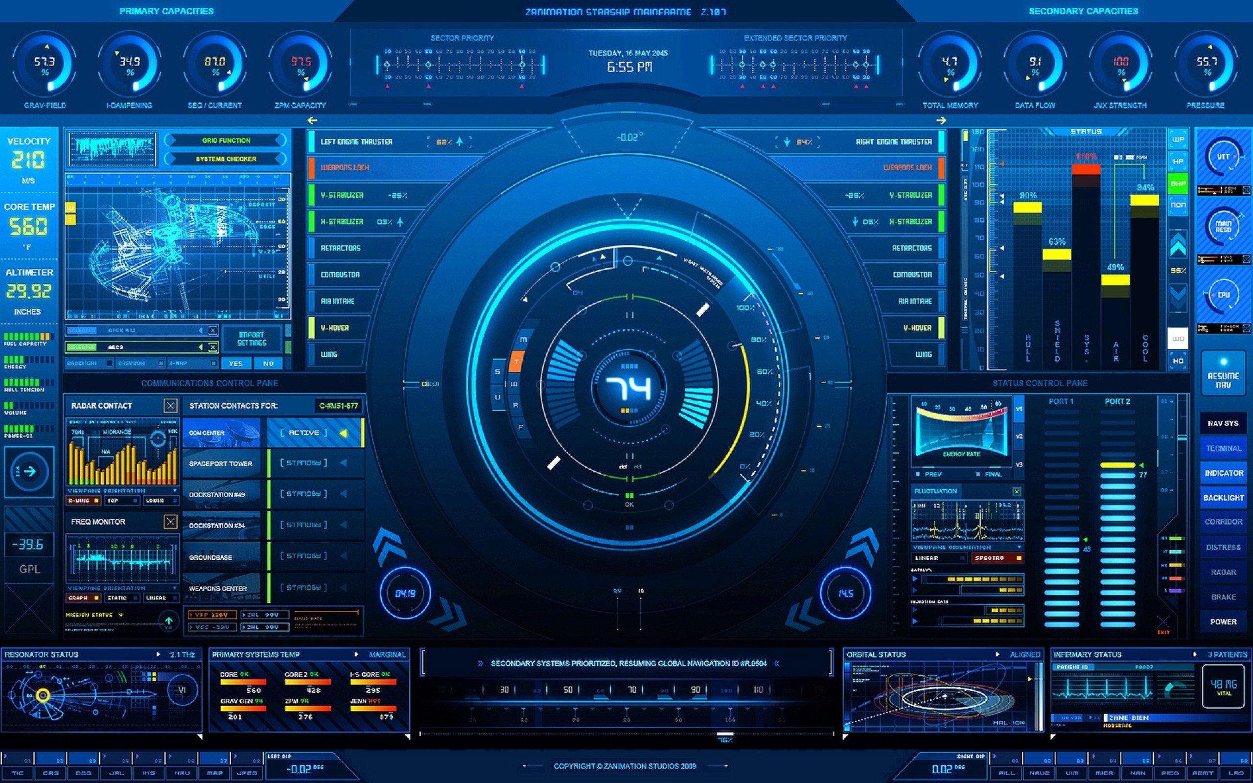 45 Hi Tech Wallpapers For Desktop and Laptops 2560x1600