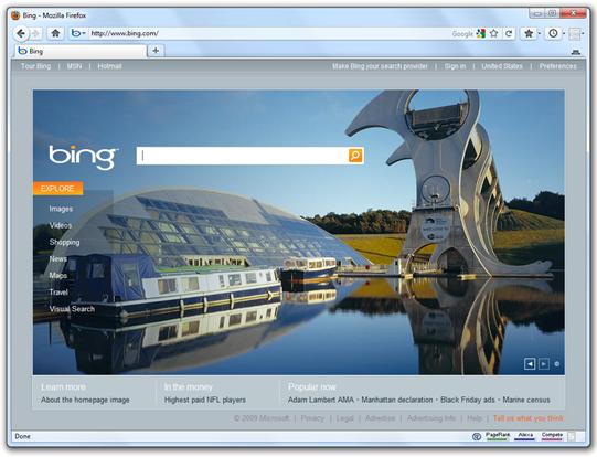 Save Bing Desktop Wallpaper