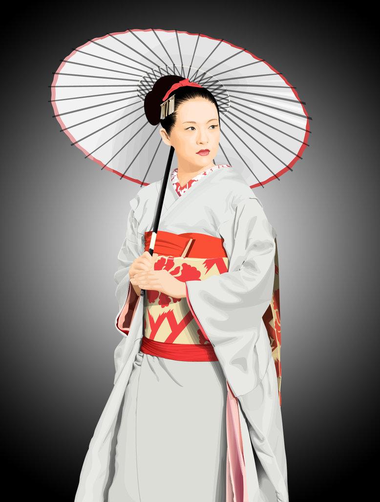 geisha illustration wallpaper digital geisha wallpaper geisha kokeshi 778x1026