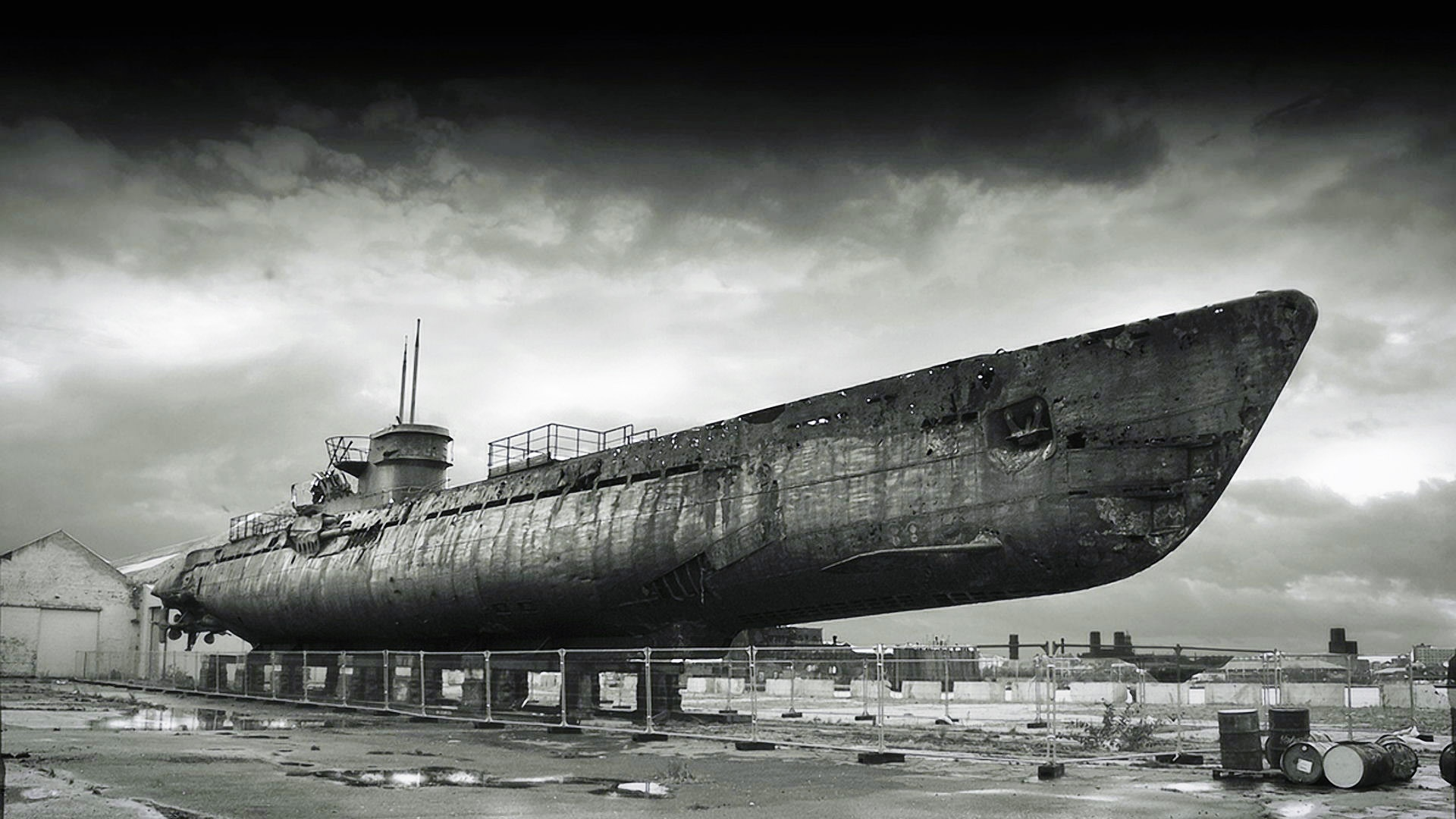 Abandoned Submarines   HD Wallpapers Widescreen   1920x1080 1920x1080