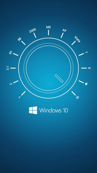 Windows 10 Speeddial Wallpaper for Windows Phone 338x600