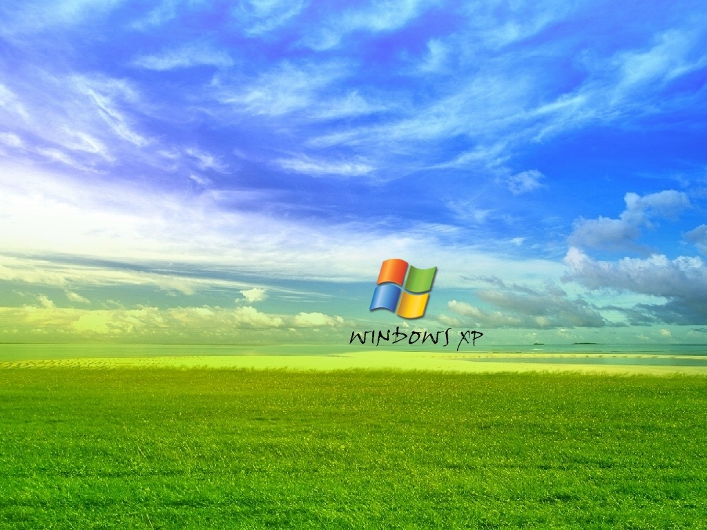 wallpaper windows xp logo with dripping wet paint desktop wallpaper 1024x768