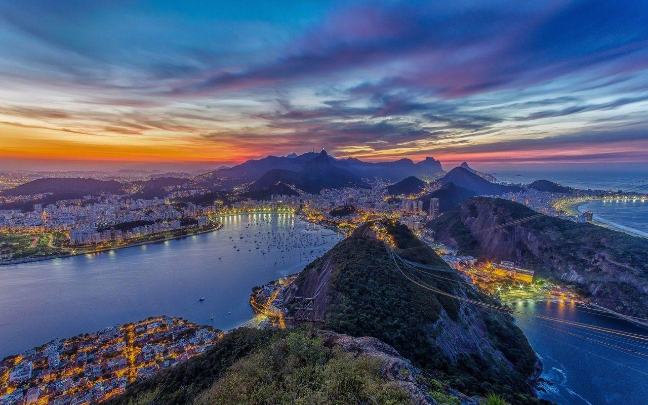 Rio De Janeiro wallpaper 17879 1280x800
