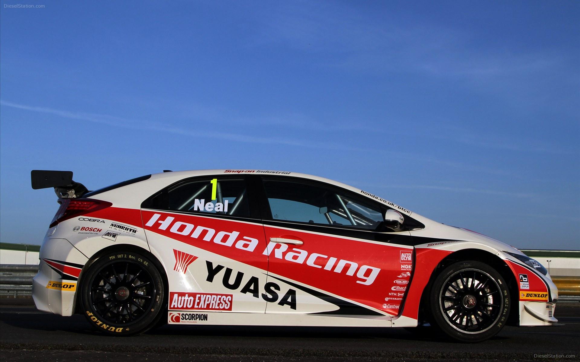Honda racing wallpaper wallpapersafari for Honda civic race car