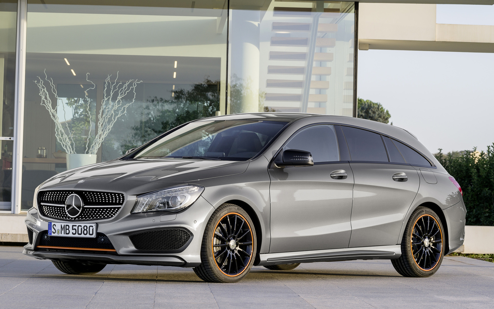2015 Mercedes Benz CLA Class Shooting Brake OrangeArt Edition 1920x1200