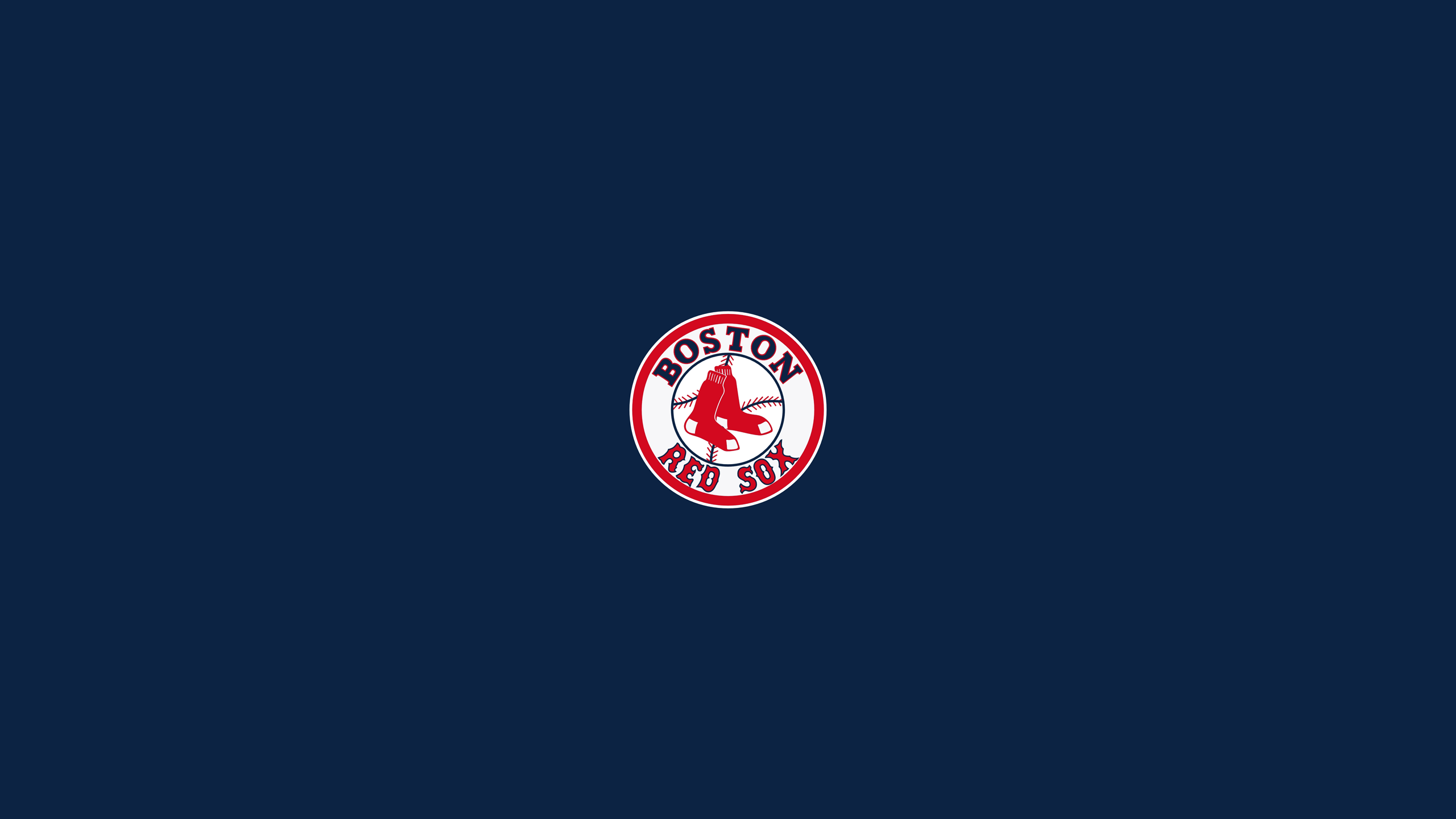 Boston Red Sox Logo Wallpapers 2560x1440