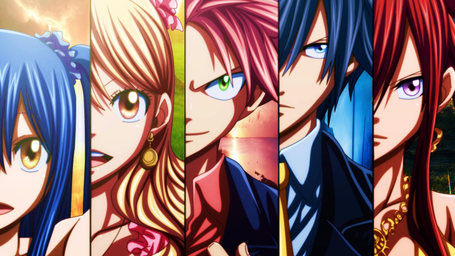 Pics Photos   Wallpaper Fairy Tail Hd Wallpaper Widescreen 1920x1080