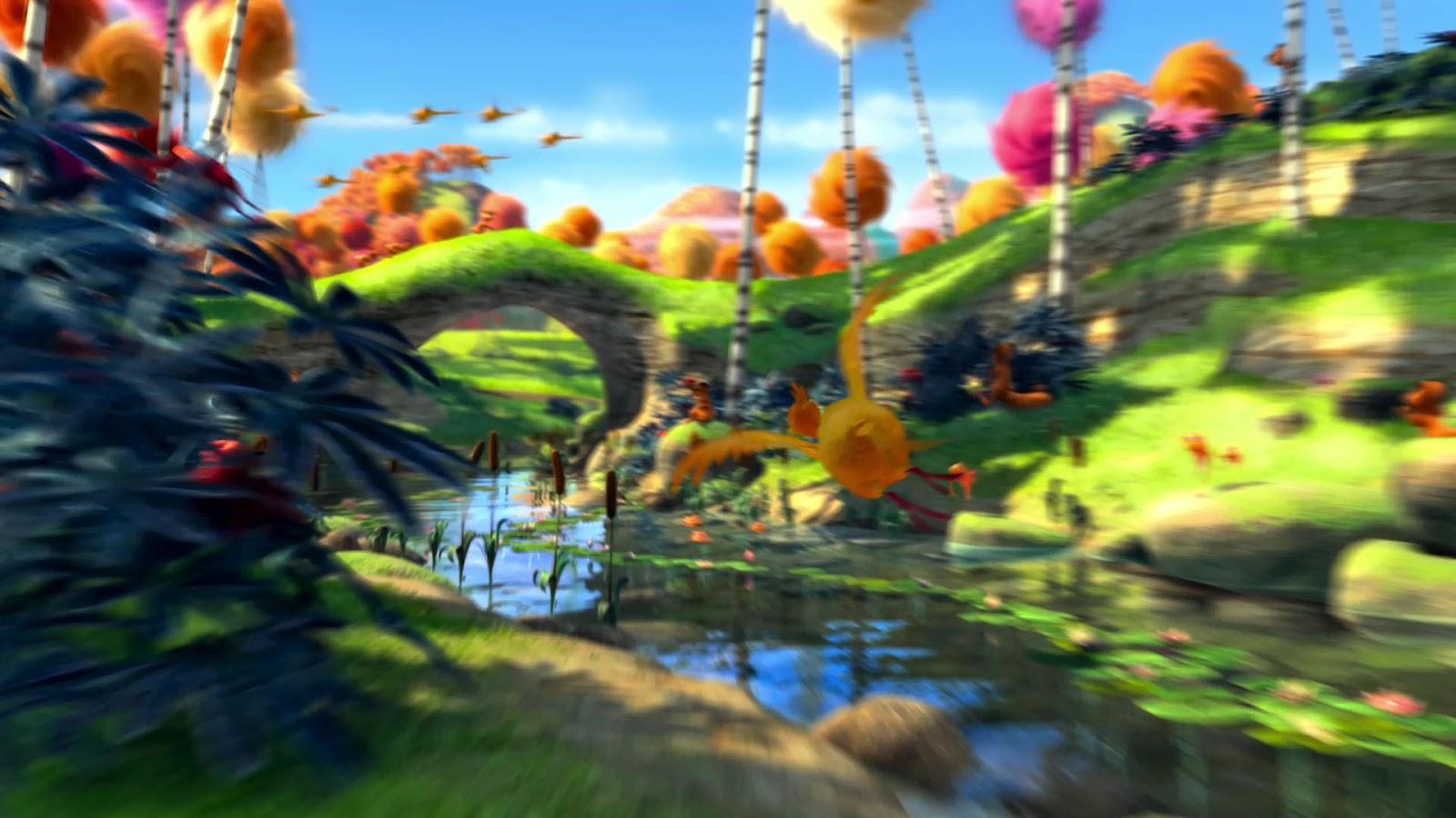 The lorax   Cartoon Movie Wallpaper 2 Cartoon Wallpaper 1600x900