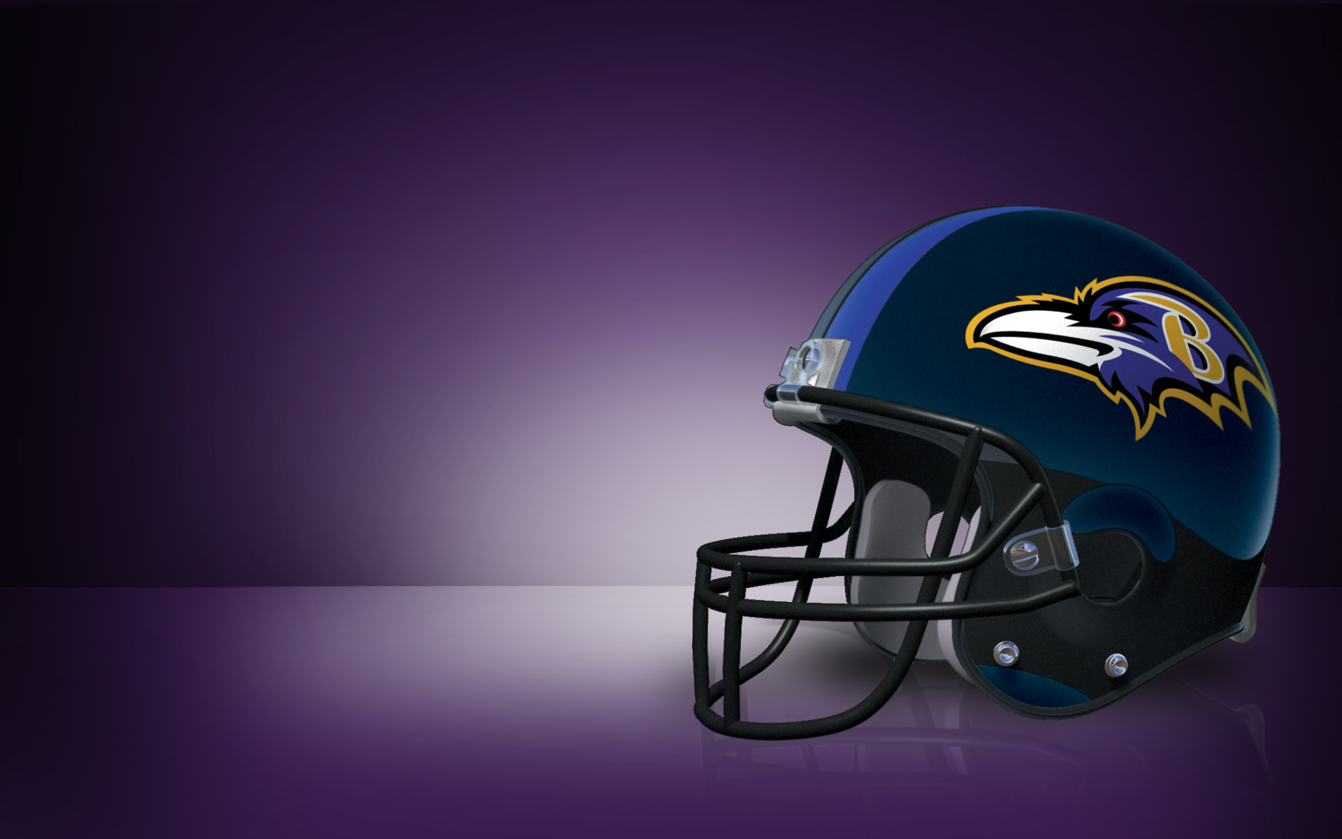 Baltimore Ravens Screen Saver Helmet Entertainment 1920x1200