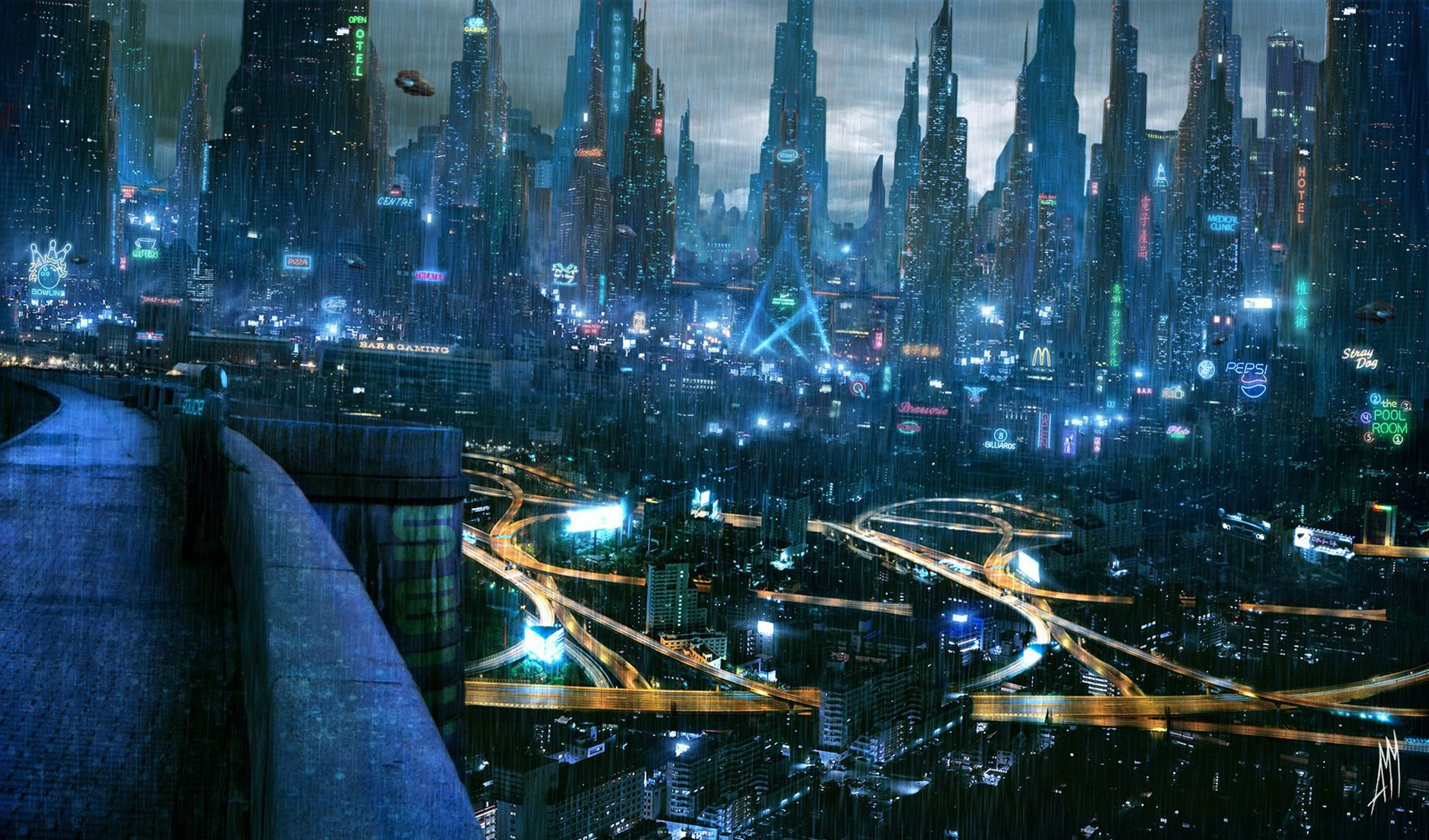 Awesome Sci-Fi wallpaper, High resolution : wallpapers