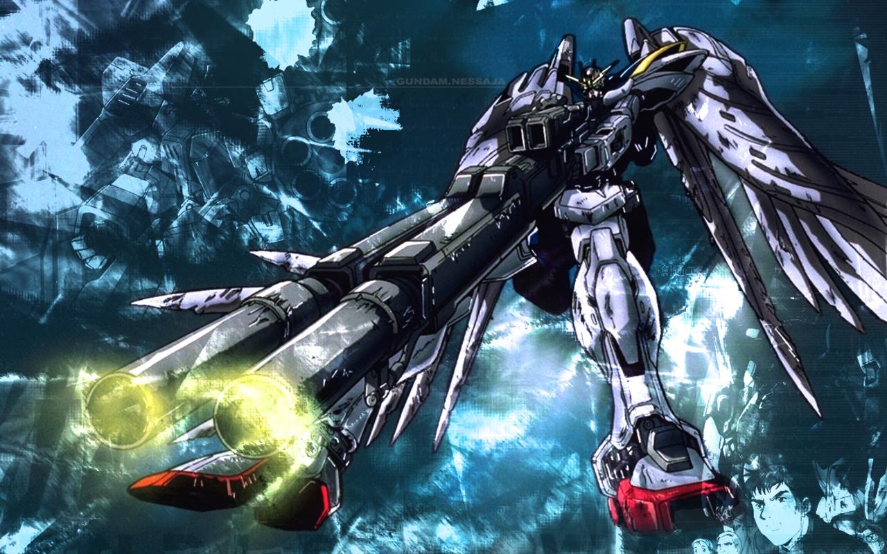 Gundam Wing Wallpaper 1280x800 Gundam Wing 1280x800