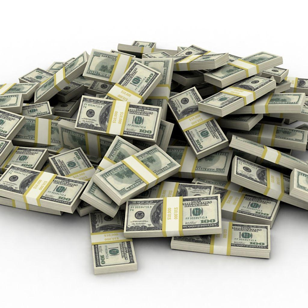 Free Download Stacks Of Money Backgrounds 1024x1024 For