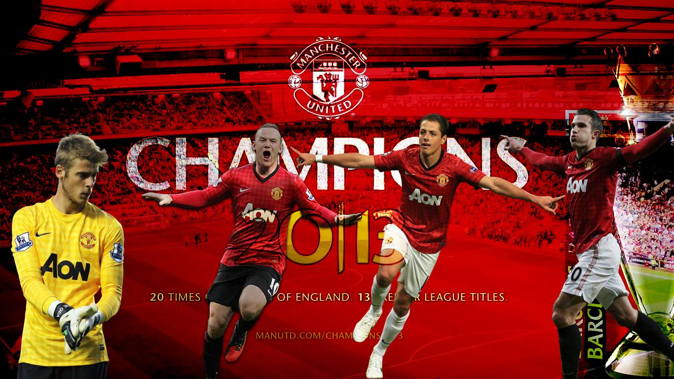 c01c5d9c8 Wallpaper Manchester United Football Club Football Wallpaper 1366x768