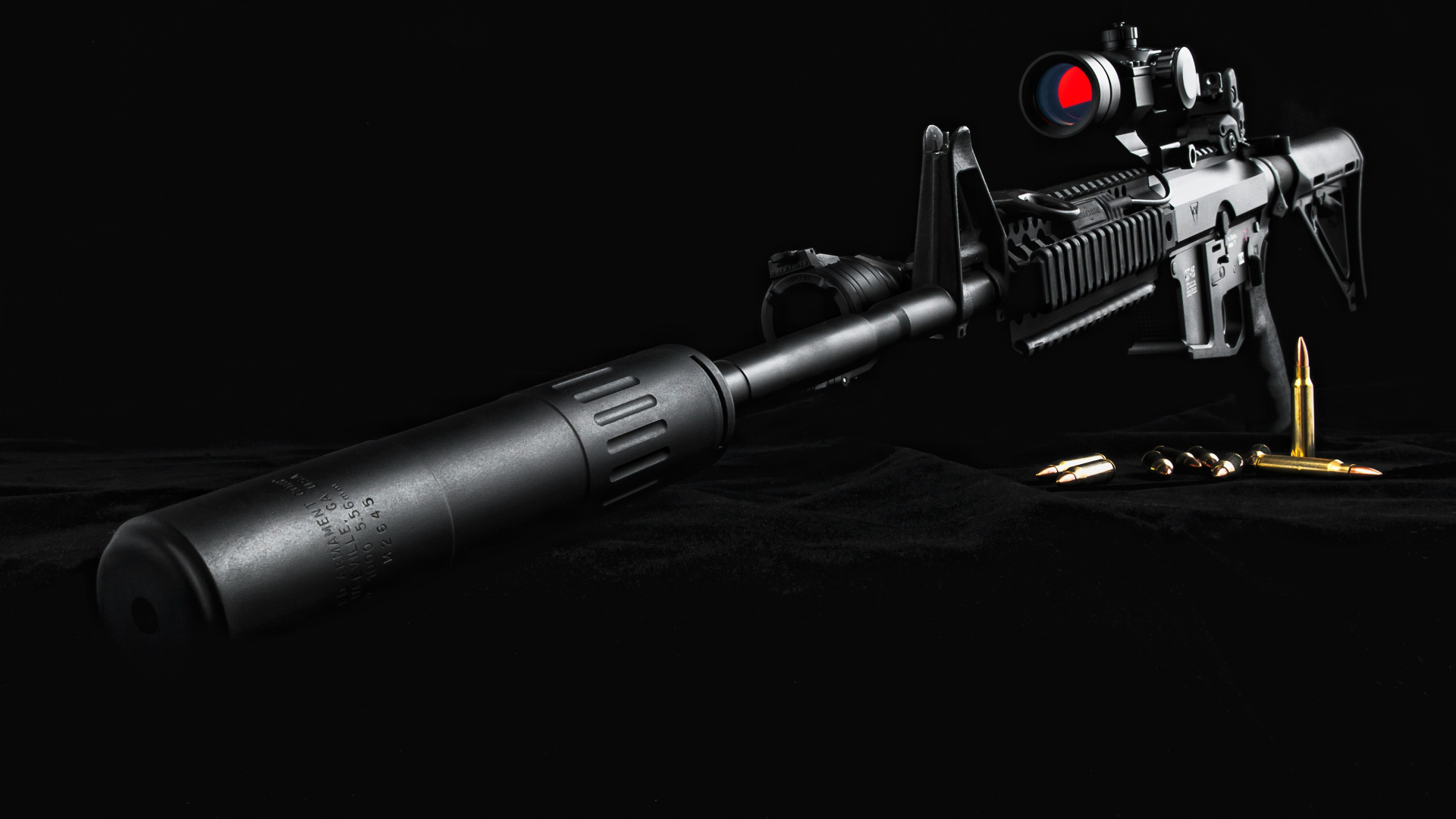 sniper scope ammo bullet ammunition military wallpaper background 1920x1080