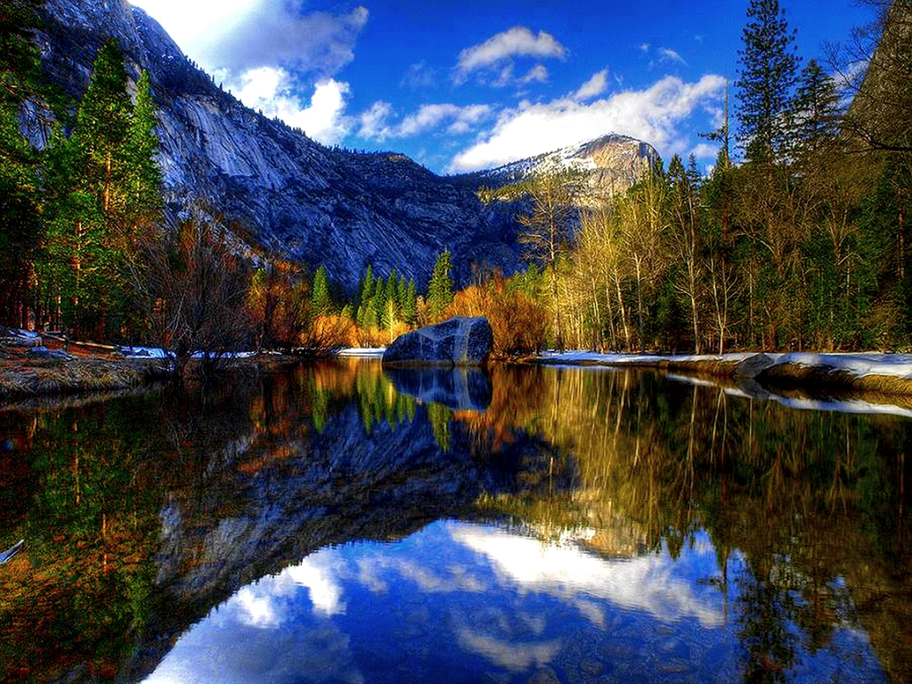 Beautiful Yosemite National Park Wallpapers HD 1024x768