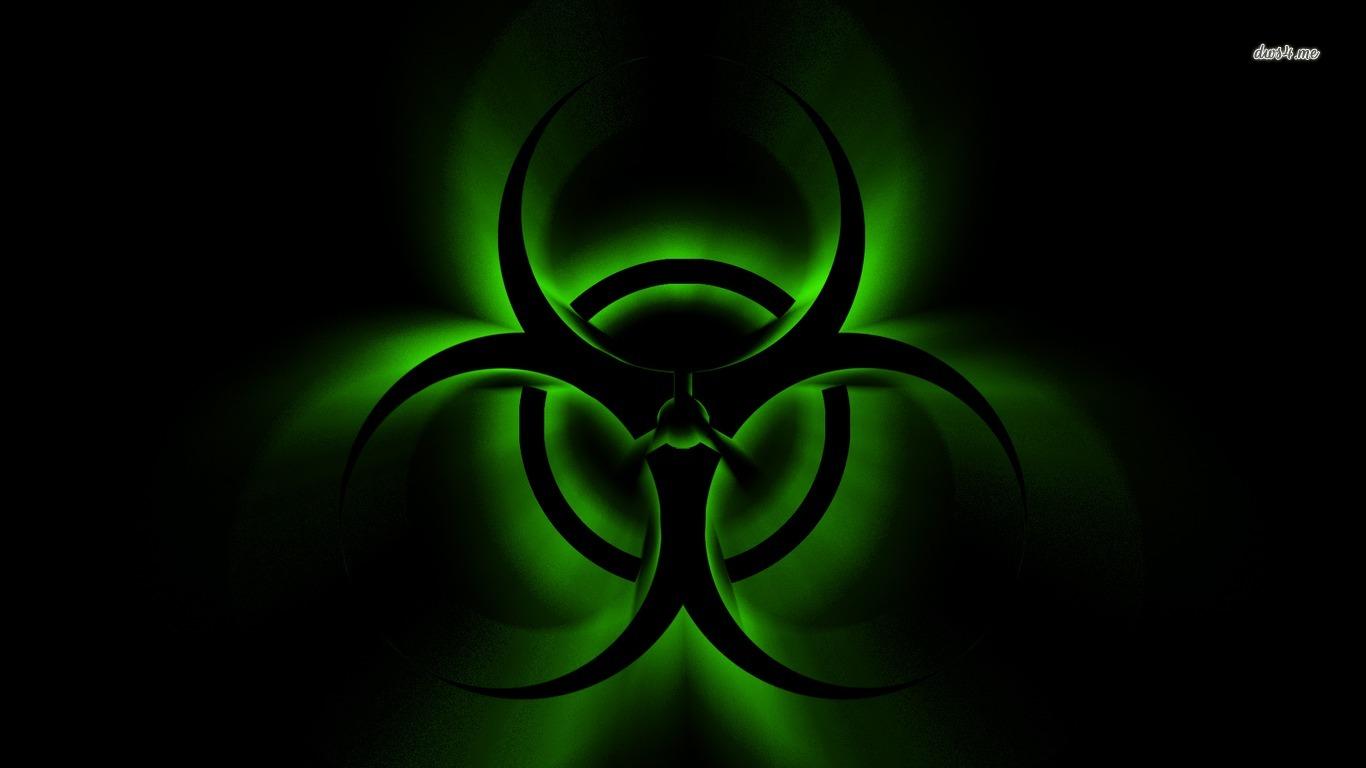 Biohazard sign wallpaper   Digital Art wallpapers   5356 1366x768
