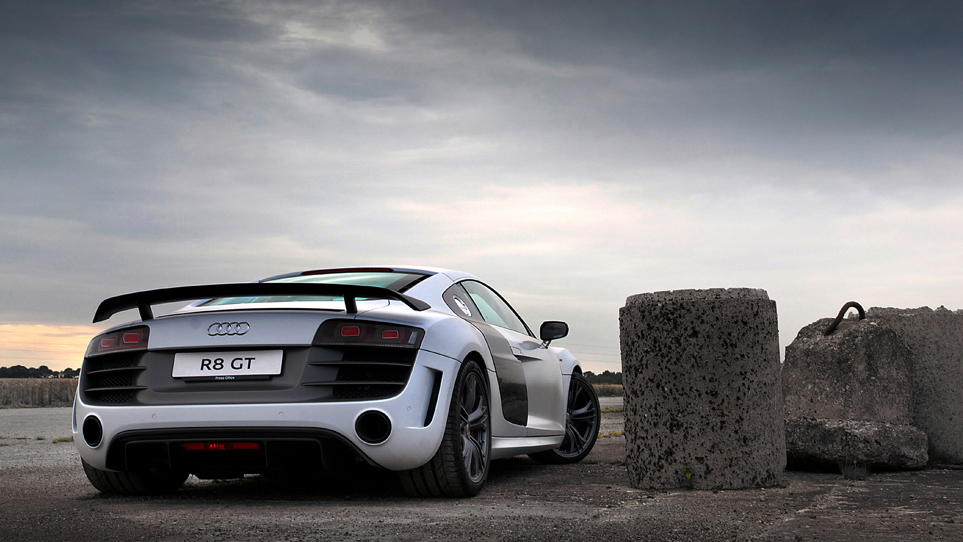 Audi R8 Backgrounds Download   WallpaperAsk 1920x1080