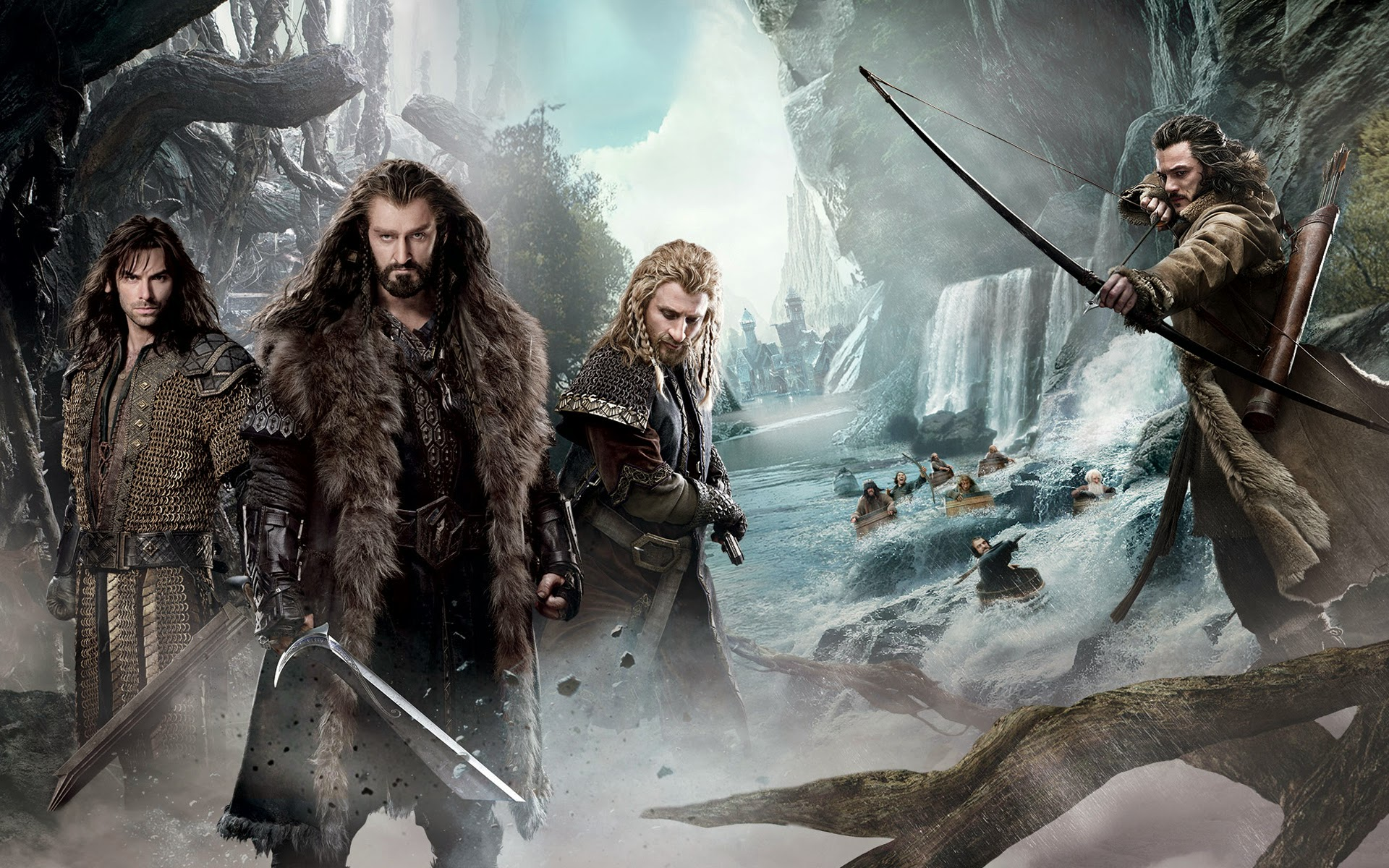 desolation of smaug 2013 movie hd wallpaper 1920x1200 widescreen a398 1920x1200