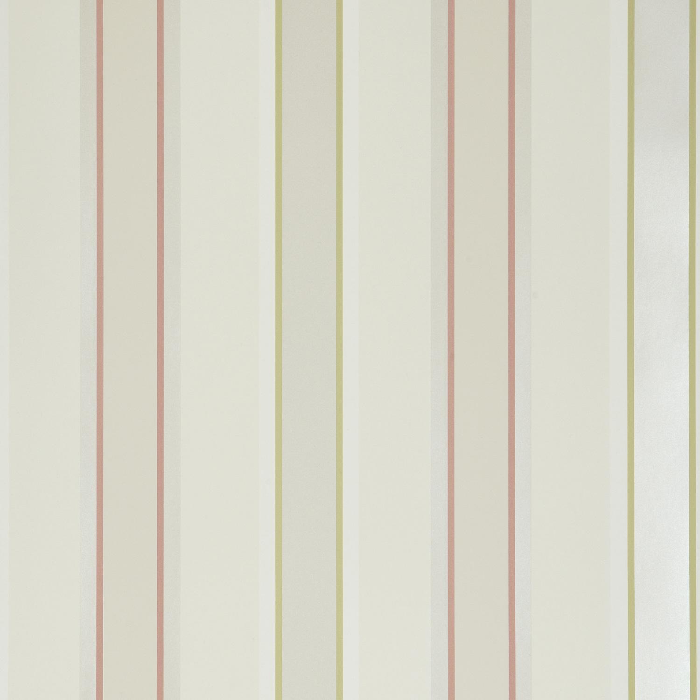 iLiv Shabby Chic Terracotta Stripe Wallpaper   10 Metres 1500x1500