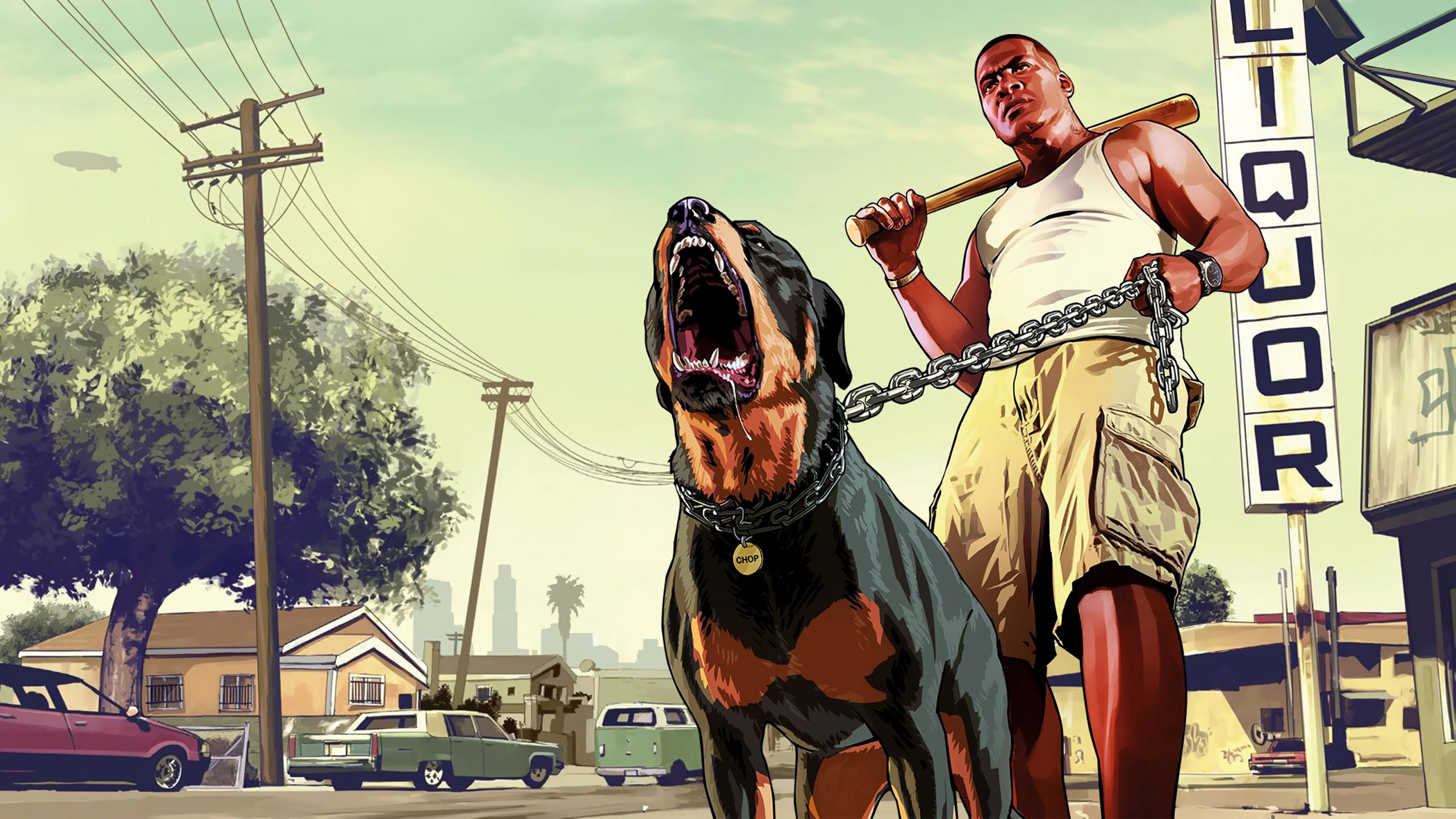 Grand Theft Auto 5 Geekstroke 2560x1440