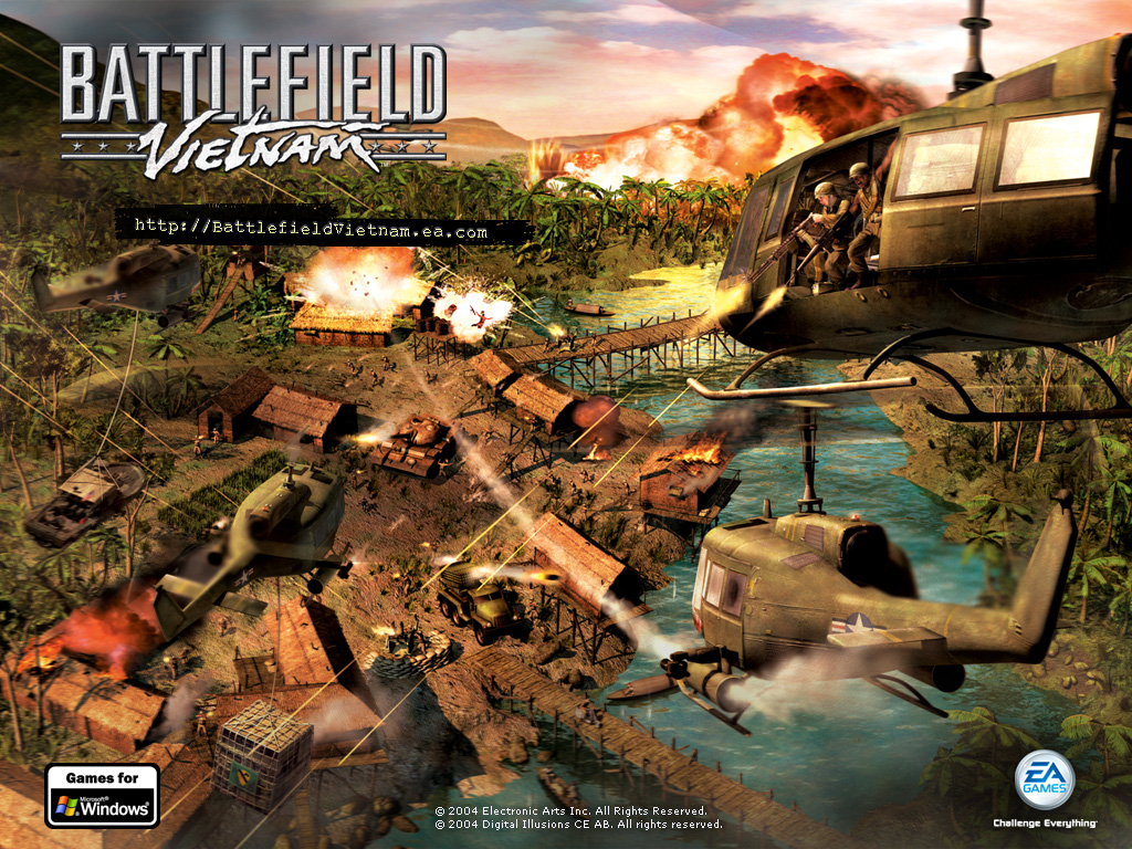 Battlefield Vietnam Wallpaper BF Gamesnet 1024x768
