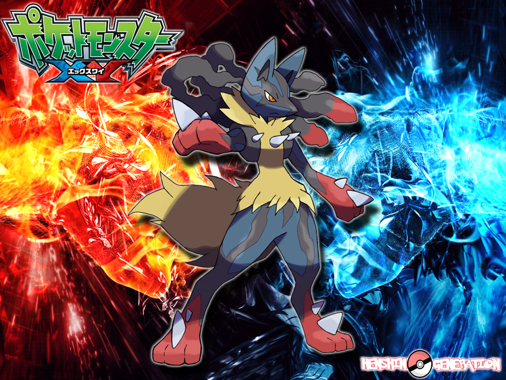 Mega Lucario by HenshinGeneration