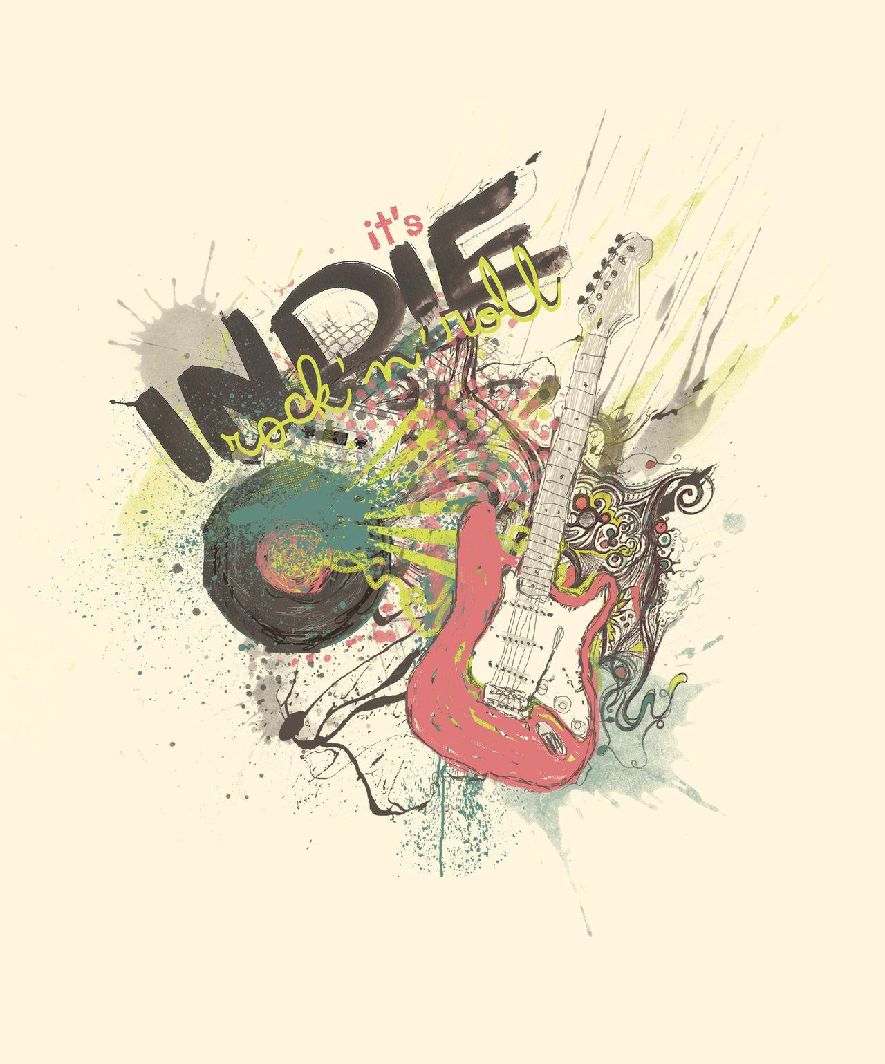 Indie Rock Wallpaper It  s indie rock  n  roll by 1280x1539