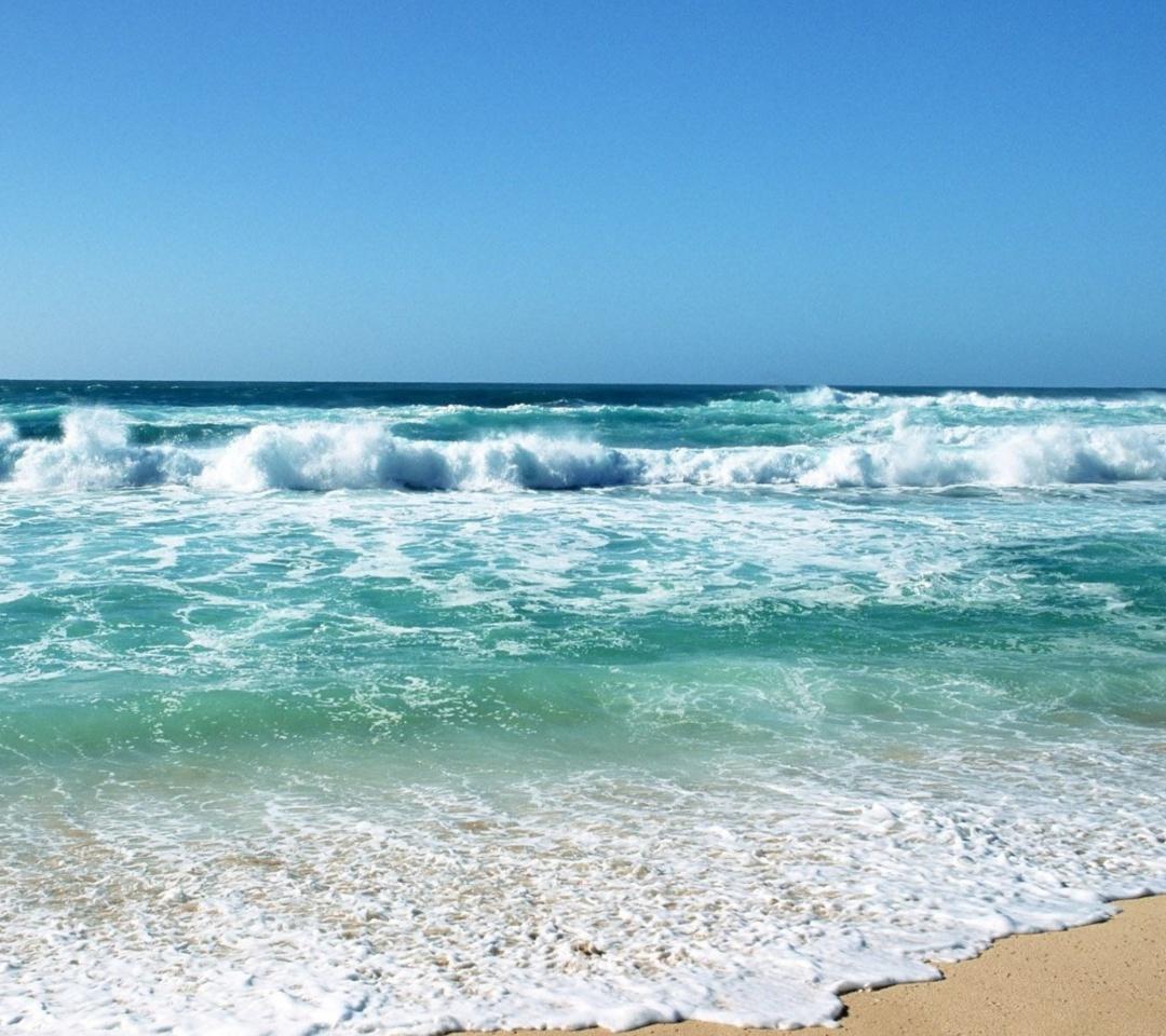 Download Ocean Waves 1080x960 Screensaver wallpaper 1080x960