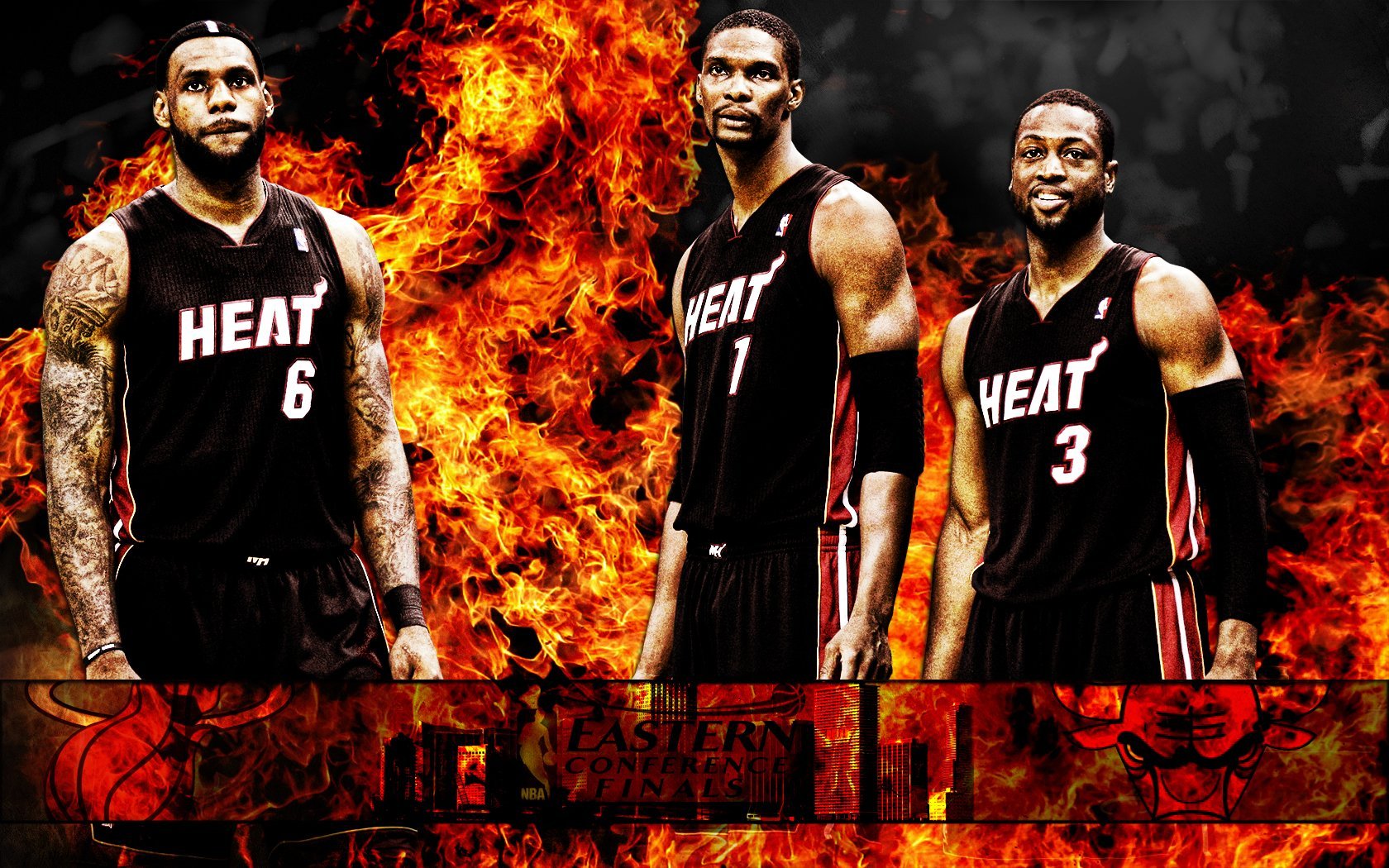 The Ultimate Miami Heat Desktop Wallpaper Collection Sports Geekery 1680x1050
