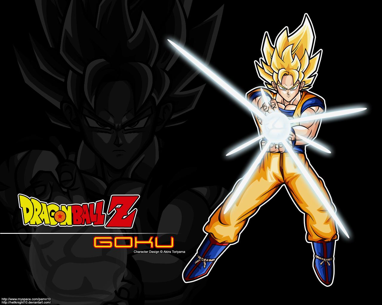 Super Saiyan Goku Wallpaper by Hellknight10 1280x1024
